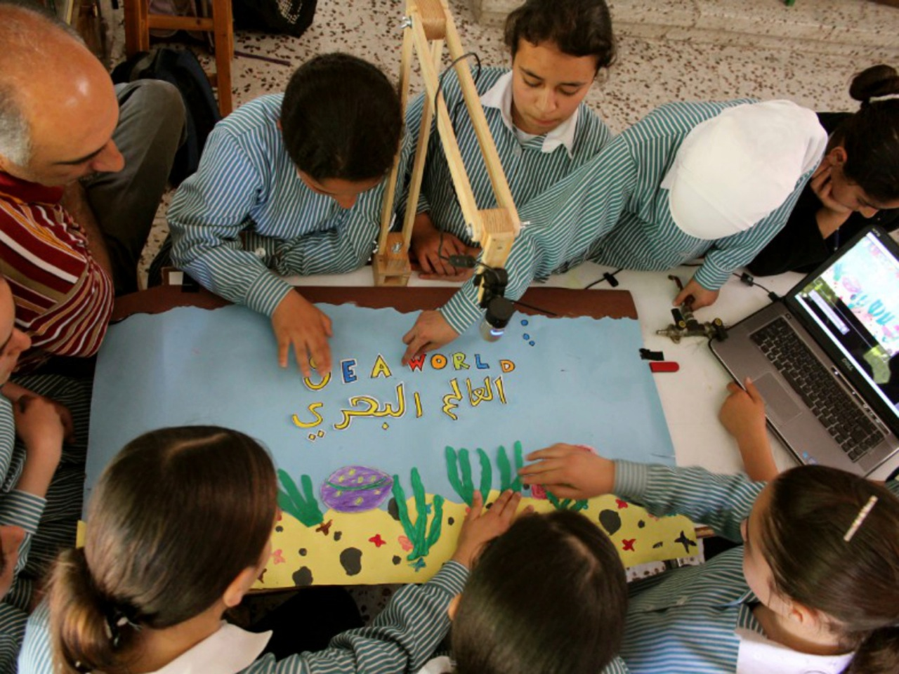 Beit Anan Students